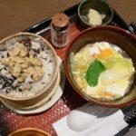 「大戸屋」で「あさりのせいろご飯と豆腐と野菜のトロトロ煮」を食す