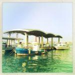 Hipstamaticで港をちょっと撮ってみた。