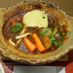 大戸屋で期間限定「手ごねハンバーグのデミシチュー定食」を注文。土鍋に入って迫力の登場!