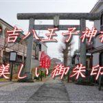 日吉八王子神社(東京・八王子)に参拝。御朱印はカラーでとても丁寧で美しい。2~3ヶ月で新しいデザインに変わります。