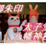 太子堂八幡神社(東京・世田谷)に参拝して御朱印をいただく。月替わりでいただけるカラフルな御朱印に参拝者が集まる。